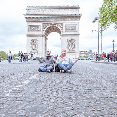 Yuval & Tomer in Paris