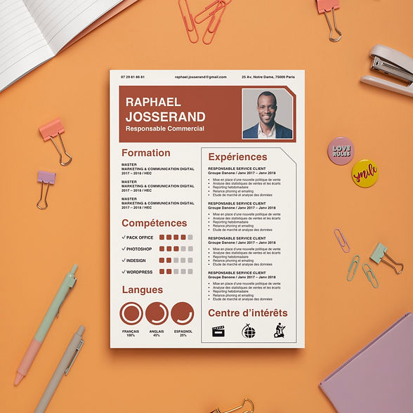 mockup-of-an-a4-letterhead-surrounded-by