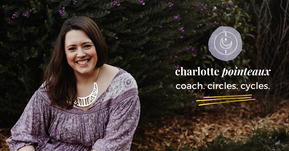 Charlotte Pointeaux Menstrual and Moon Cycle Coach, Women and Girls Life and Period Coach