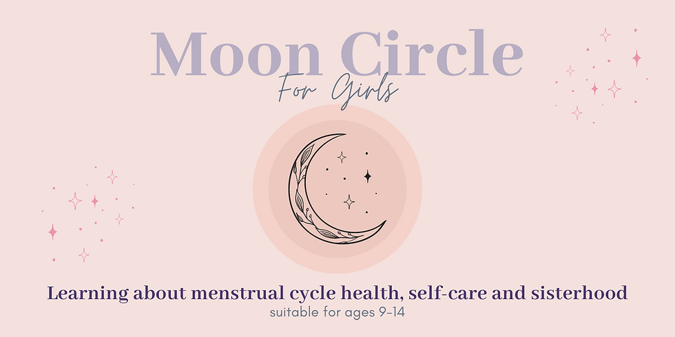 Girls Monthly Moon Circle - 26 June 2021