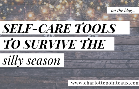 Self-care Tools to Survive the Silly Season