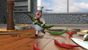Chef Animacion 3D