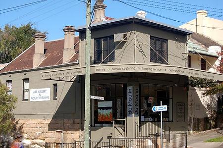 Du Moulin Gallery, 155 Nelson Street, Annandale Sydney