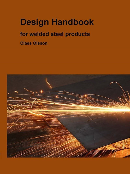 Design handbook for welded steel products