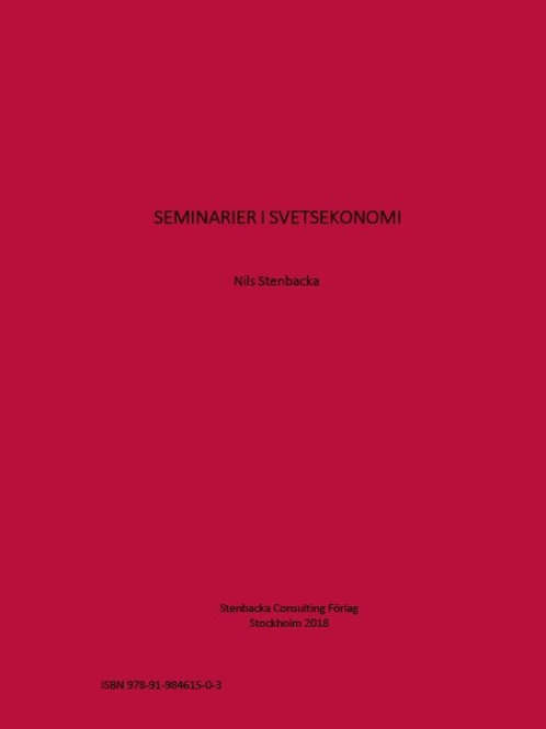 Seminarier i Svetsekonomi
