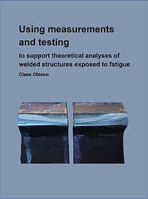 Handbook covering measuring, testing and theoretical analyses of welded structures.