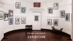 """""""Looking at you"""" Celine's Solo Exhibition"""