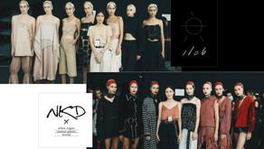 พราว / คิดดี้ Yong Designer สองสาวสองสไตล์ กับ Collection เสื้อผ้าบนรันเวย์ ELLE ELLEmen Fashion Wee