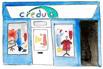 Credu Carers Shop Illustration