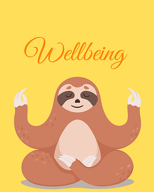 Picture of a Sloth Meditating
