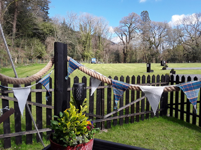 The Shepherds Hut Garden