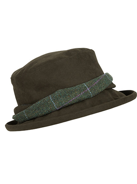 Albany Ladies Lambswool Tweed-Twist W/P Hat