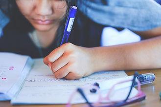 girl writing .jpg