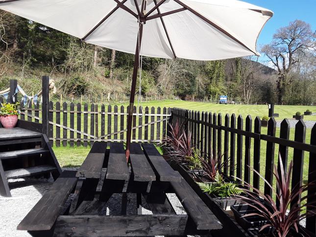 The Shepherds Hut Garden 3