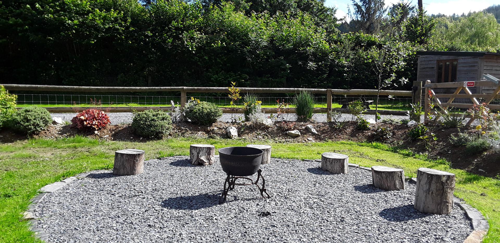 Campsite BBQ Area