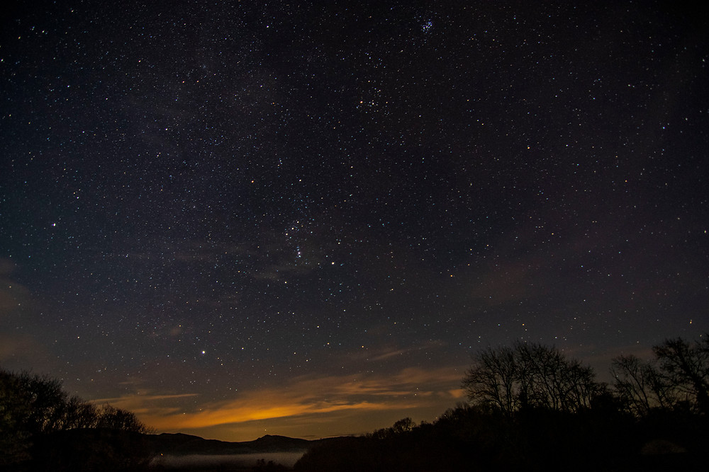 Astrophography over Penybont