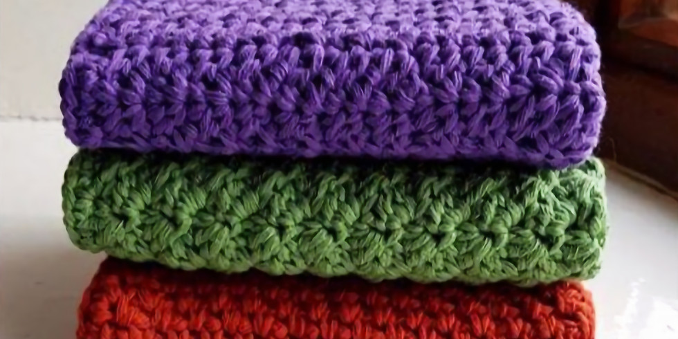 Crochet Dishcloths - You choose the design