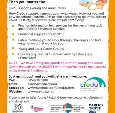Emergency grants to support Young and Adult Carers