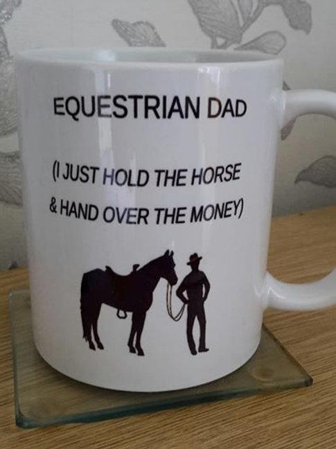 Equestrian dad