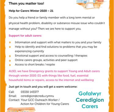 Ceredigion Adult Carers