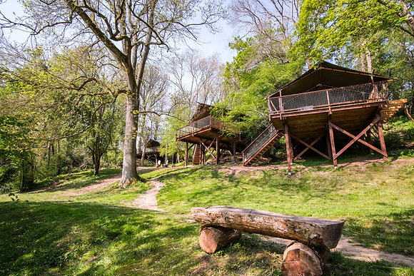 By the Wye Treetop Glamping