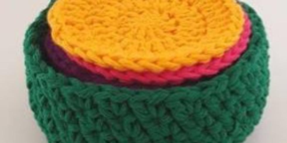 Crochet Your Own Cotton Face Scrubbies