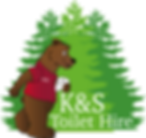 K&S Toilet Hire Logo
