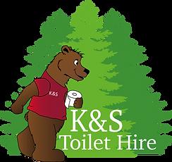 K&S Toilet Hire Logo
