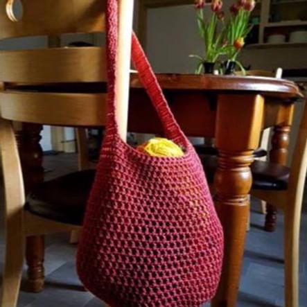 Crochet a 'String' Market Bag
