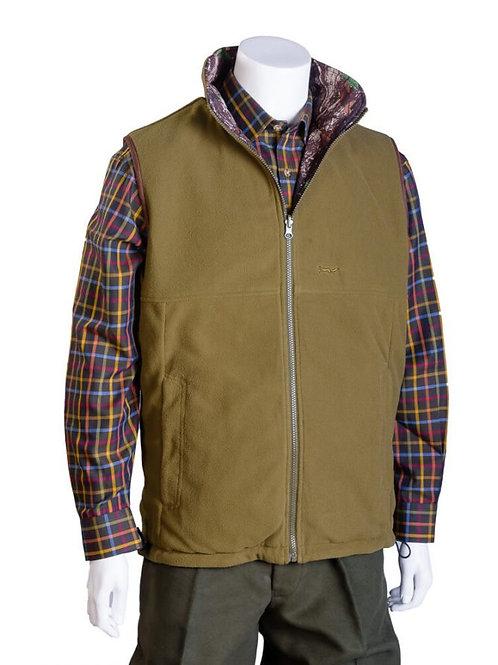 Douglas Reversible Fleece/ Camo Bodywarmer