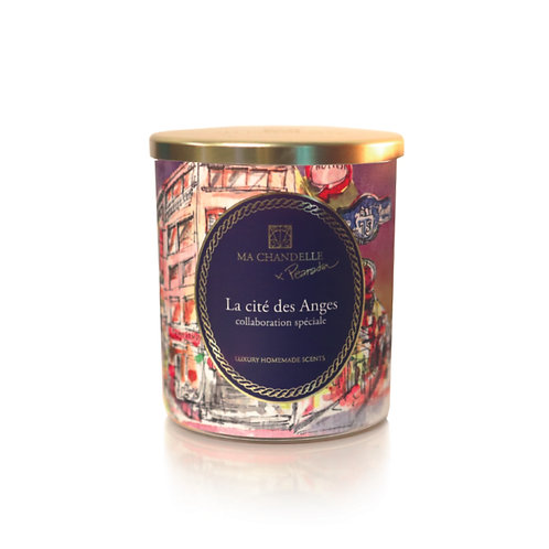 Scented Candle 230g - La Cité des Anges (PEARADA Collaboration Collection)