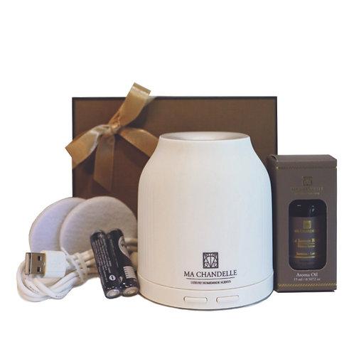 Portable Mini Diffuser (Free Signature Aroma Oil 15ml)