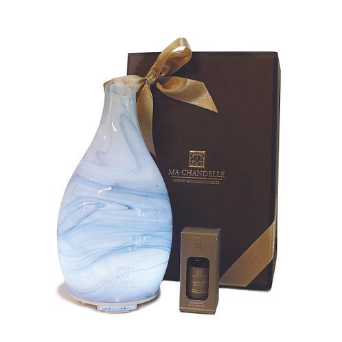 Marble Ultrasonic Diffuser Machine (Free Signature Aroma Oil 15ml)