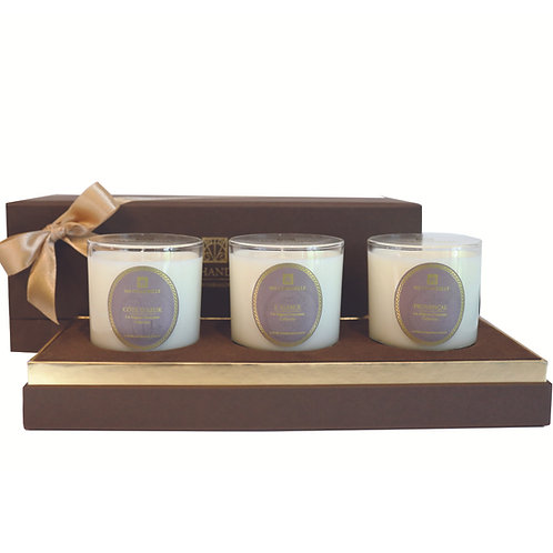 Miniature Signature Scented Candle Trio Set