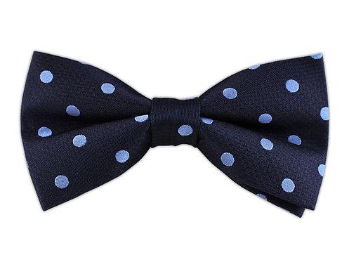 Big Polka Dots Light Blue/Navy