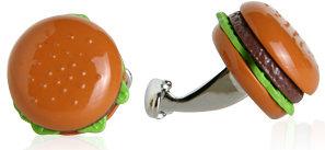 Burger Cufflinks