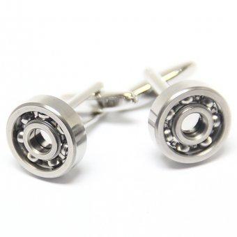 Silver Bearing Cufflinks