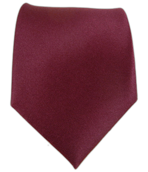 Solid Satin - Burgundy