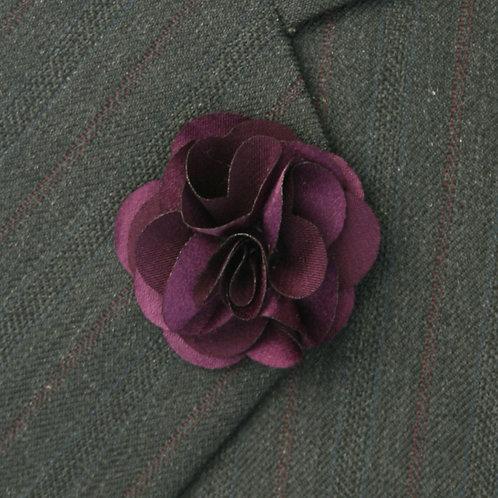 Magenta Flower Pin