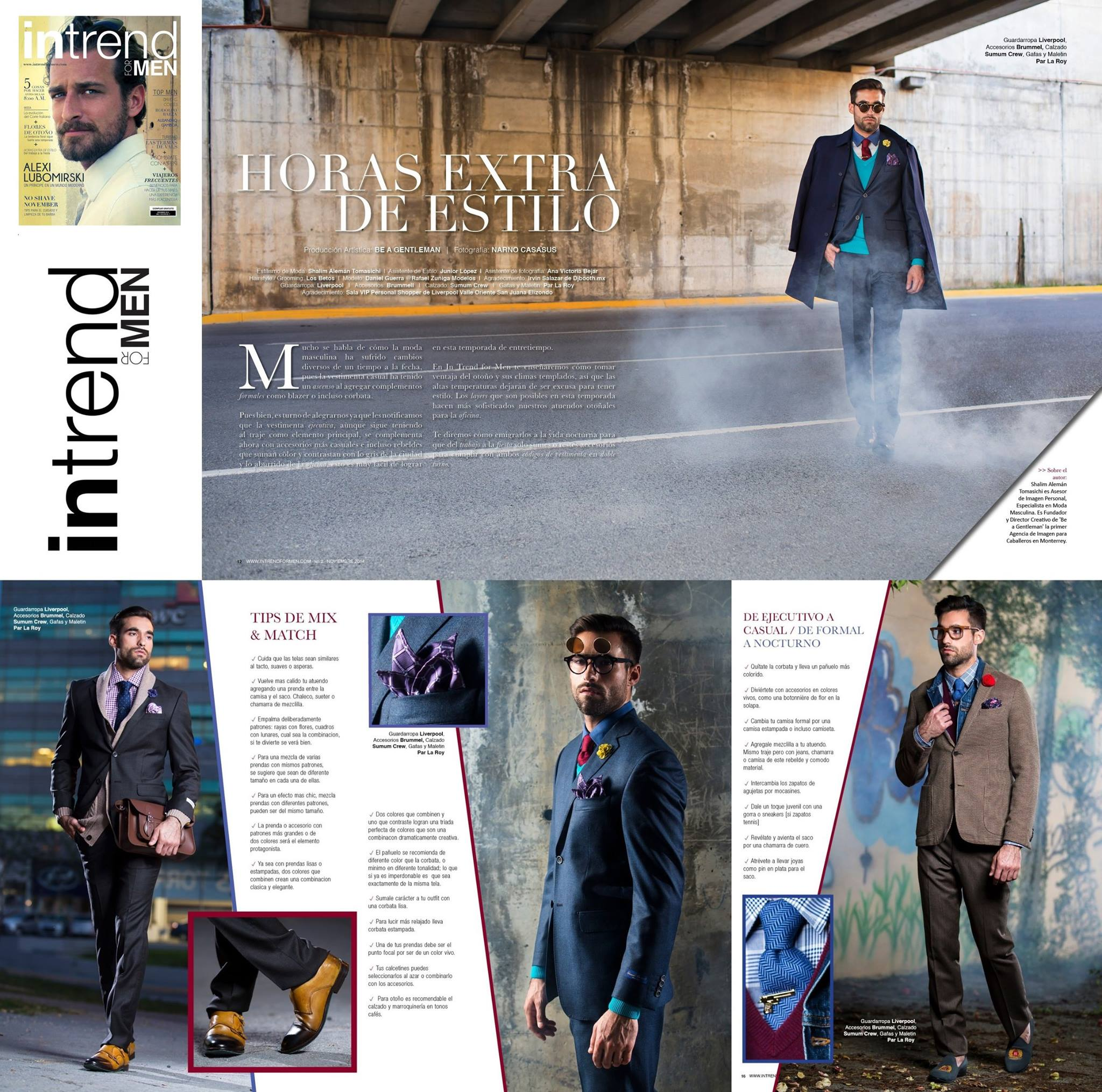 INTREND FOR MEN MAGAZINE