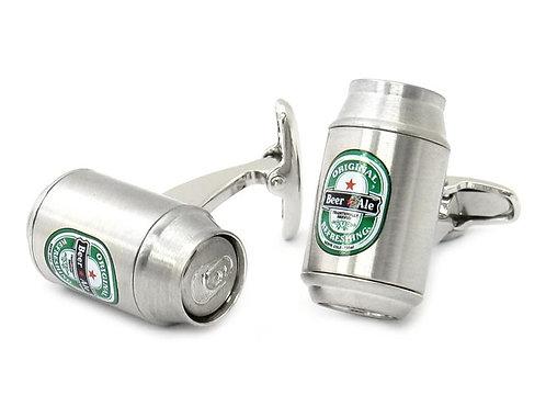 Beer Can Cufflinks