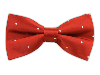 Red/White Polka Dots Bowtie