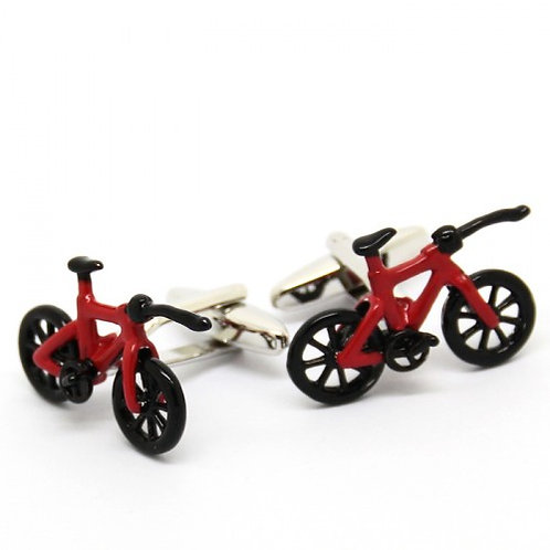 Red Bycicle Cufflinks