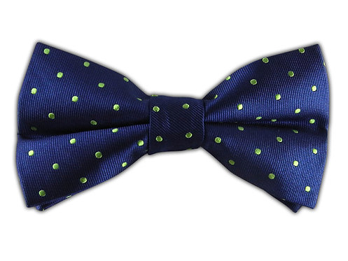 Polka Dots Blue/Green