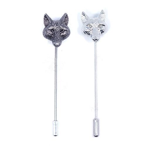 Wolf Lapel Pin