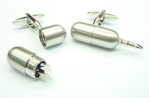 Functional Screwdriver Cufflinks