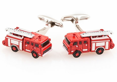 Fire Engine Truck Cufflinks