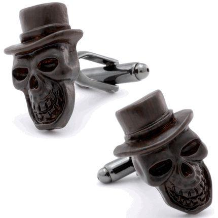 Black Skull Cufflinks