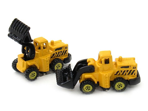 Yellow Truck Cufflinks