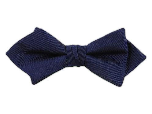 Navy Diamond Bow Tie